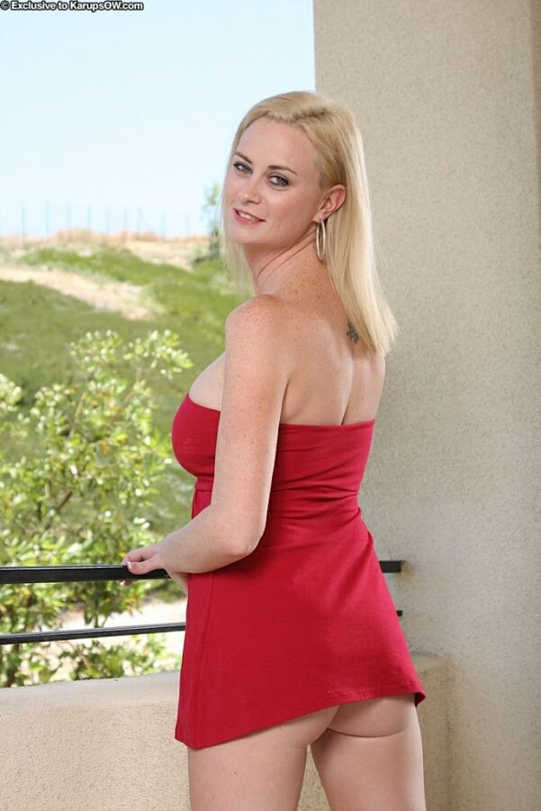 Blonde Milf Young Guy Hotel