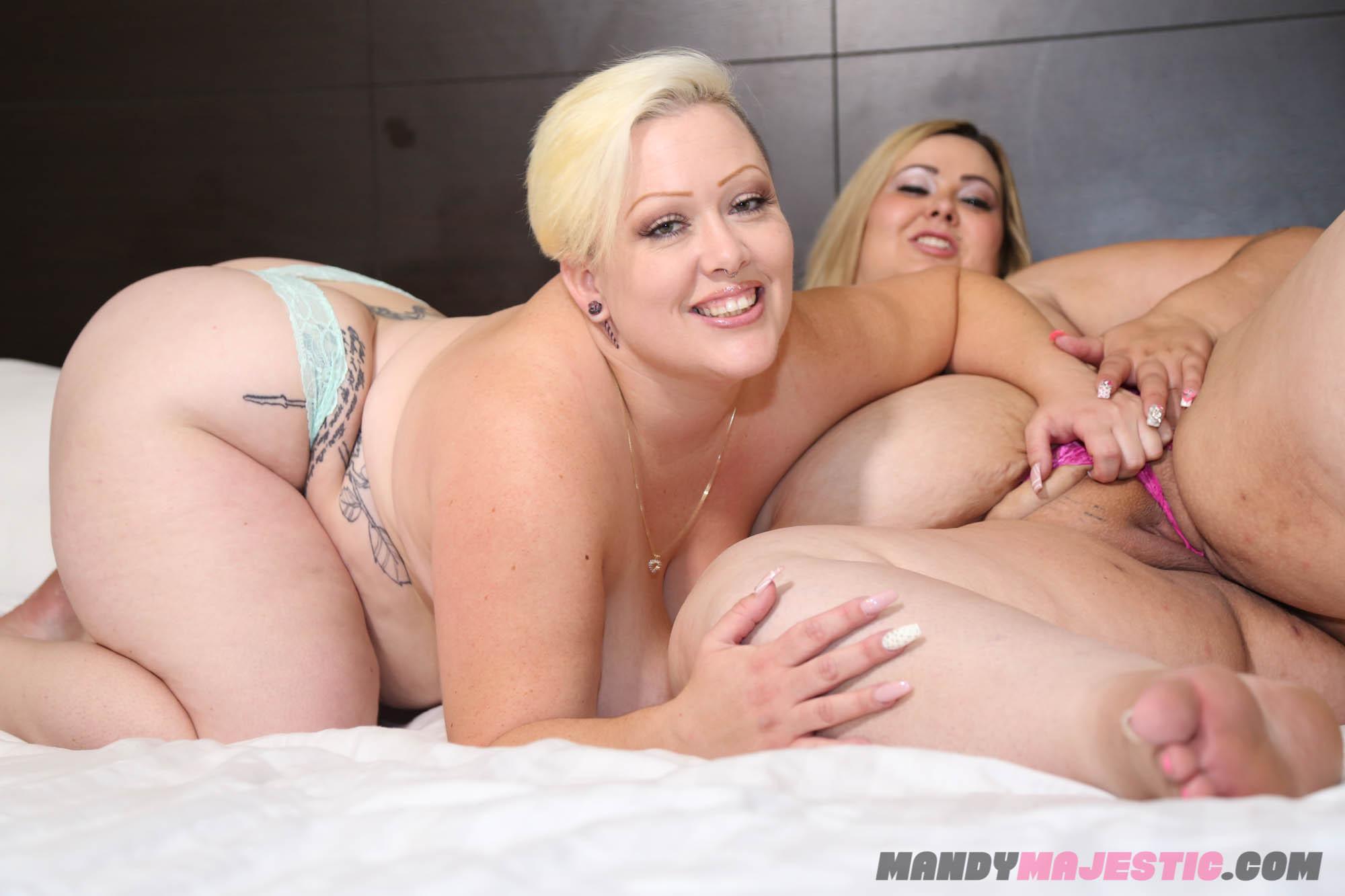 2 Thick Ebony Threesome