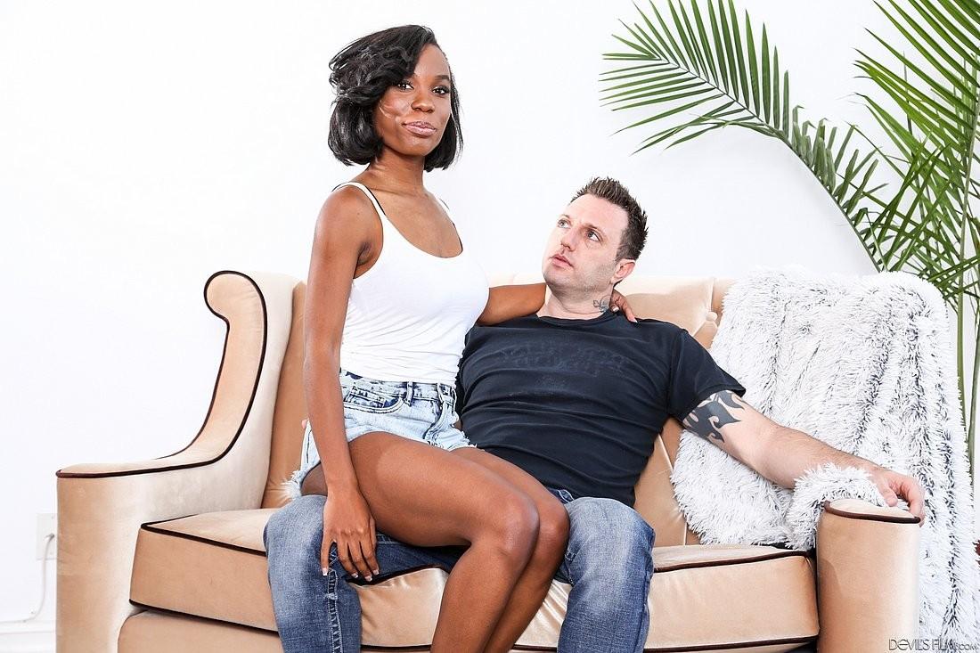 Choked While Fucked Ebony