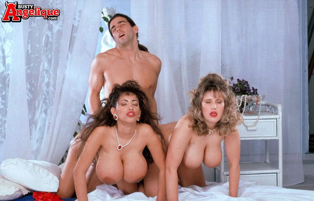 Threesome Big Tits Babe Ffm