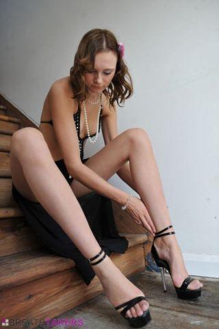 BREATHTAKERS    Babes    Beautiful    Erotic    Heels    Leg    Model    Skinny    Stripping thumbnail