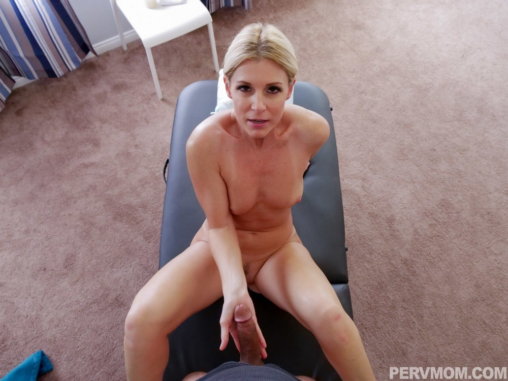 Blonde Milf Virtual Sex